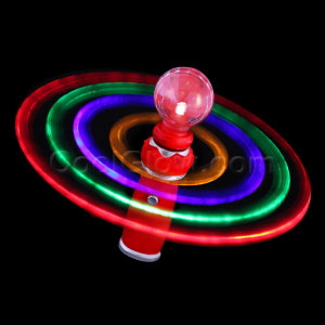 Fun Central T045 LED Light Up Galaxy Spinner Wand