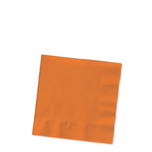 Orange Beverage Napkins