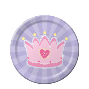 Fairytale Princess 7 Inch Plates- 8ct