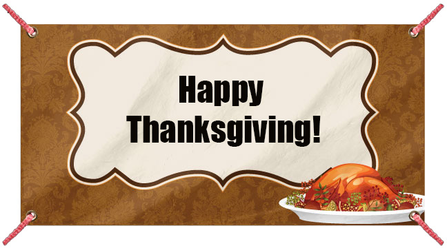 Classic Thanksgiving - Custom Banner