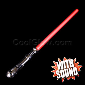 LED Deluxe Light Saber with Sound