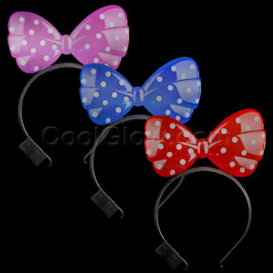 LED Minnie Mouse Headband - Assorted