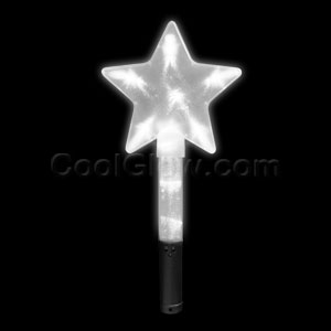 LED Super Star Wand - White