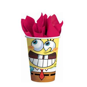 SpongeBob Classic 9 oz. Cups- 8ct