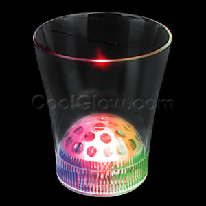 LED Disco Projector Cup - 8oz