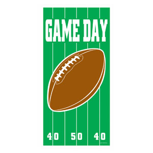 Game Day Football Door Cover- 5ft