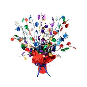 Balloon Gleam n Burst Centerpiece - 15 inches