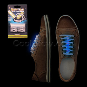 Glow Shoe Laces - Blue