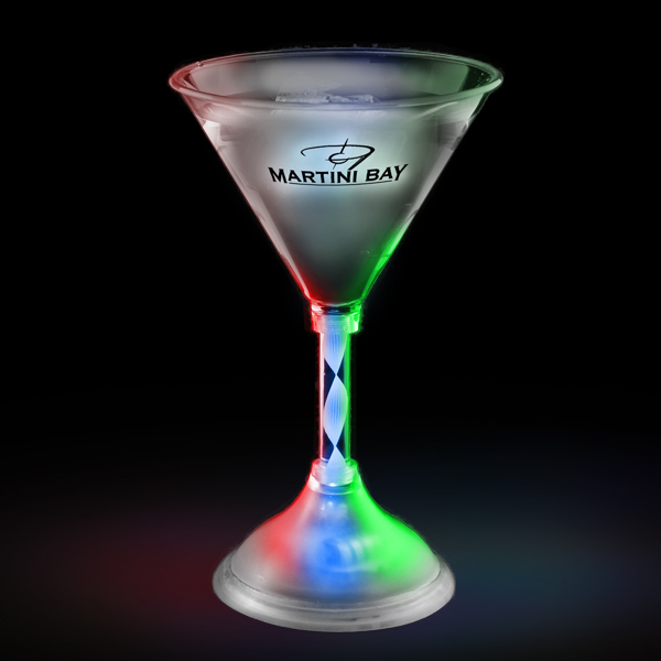 LED Martini Glass - 7 oz.