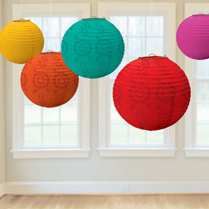 Fiesta Paper Lantern Value Pack- 6ct