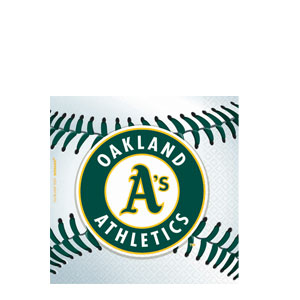 oakland-athletics-beverage-napkins-36ct