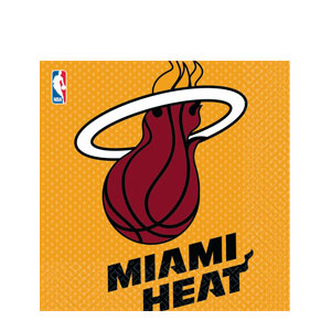 Miami Heat Luncheon Napkins