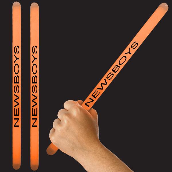 14 Inch Glow Sticks - Orange
