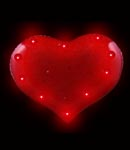 Flashing Red Heart Blinky