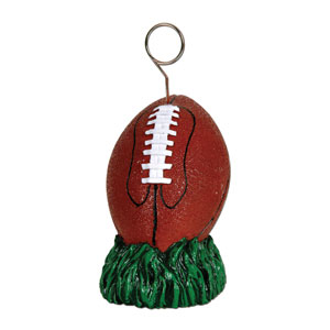 Football Photo Balloon Holder- 6oz