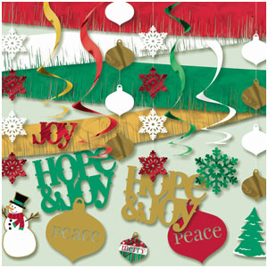 Holiday Joy Swirls Decorating Kit- 22pc