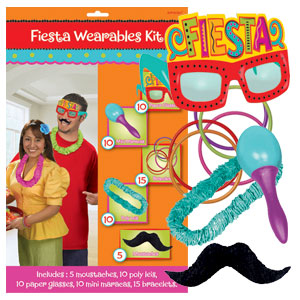 Fiesta Wearable Kit- 50pc