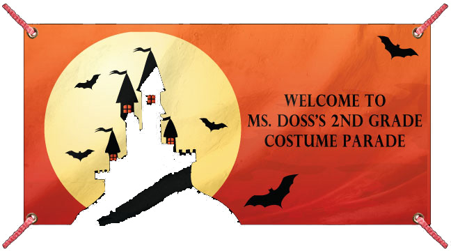 Haunted House - Custom Banner