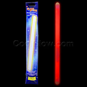 14 Inch Glow Sticks - Red