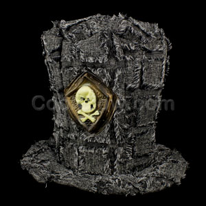 LED Skull Top Hat