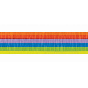 Rainbow Crepe Paper - 81ft
