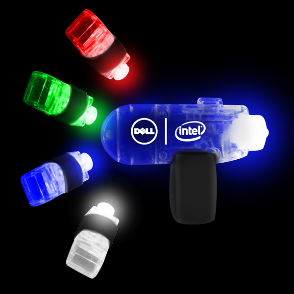 LED Finger Lights - Assorted 36ct