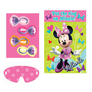 Disney Minnie Mouse Party Game- 4pc