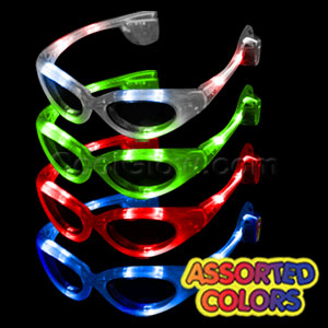 LED Sunglasses - Assorted