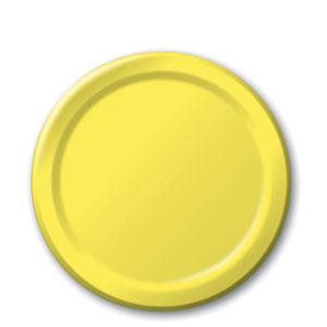 mimosa-yellow-7-inch-plates