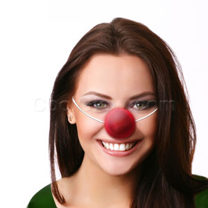 LED Flashing Clown Nose