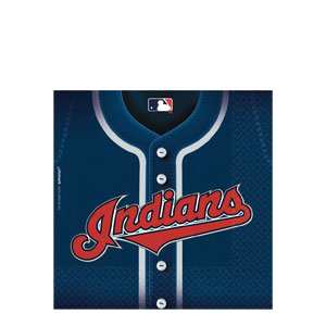 Cleveland Indians Luncheon Napkins- 36ct