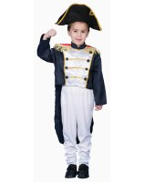 Colonial General Child Costume - Medium (8-10)