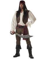 Rogue Pirate Adult Costume - Medium (40/42)