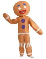 Shrek-Gingerbread Man Child Costume - Large