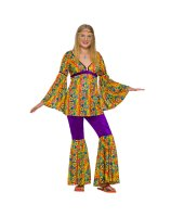 Purple Haze Hippie Teen Costume - Teen