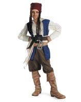 Pirates of the Caribbean - Jack Sparrow Child Costume - Large (10-12)