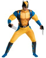 Wolverine Origins Classic Muscle Adult Costume - X-Large (42-46)