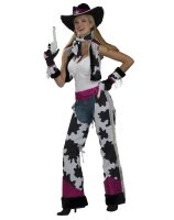 Glamour Cowgirl Adult Costume - One Size