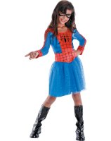 Spider-Girl Classic Toddler - Child Costume - Medium (7-8)