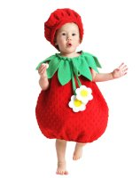 Strawberry Infant - Toddler Costume - Infant (6-12M)