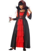 Regal Vampira Girl Costume - Medium Plus (8-10)