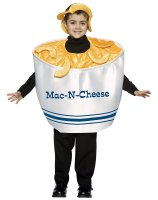 Mac & Cheese Child Costume - Small (4-6X)