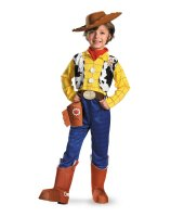 Disney Toy Story - Woody Deluxe Toddler - Child Costume - 3T-4T