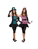 Mad About You Reversible Teen Costume - X-Small (0-1)
