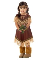 Lil' Indian Princess Toddler - Child Costume - X-Small (4-6)