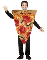 Pizza Slice Child Costume - 7-10