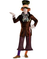 Alice In Wonderland Movie - Prestige Mad Hatter Adult Costume - Standard (42-46)