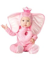 Pink Elephant Infant - Toddler Costume - 12/18 Months