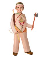 Indian Child Costume - One Size (Fits Sizes 4-8)