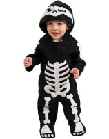 Baby Skeleton Infant - Toddler Costume - 2-4T